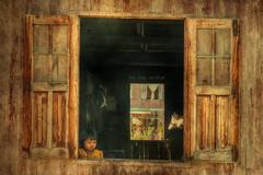 The rear window (Saint-Exupery) Tags: leica burma myanmar inlelake birmania lagoinle