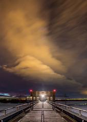 TOWER DAM, Denver (wilsonaxpe) Tags: longexposure tower clouds dam denver crepusculo predawn clouldaction