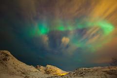 Illusive Aurora (AvijitNandy) Tags: norway aurora tromso canon1124f4l