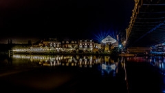 The Compleat Angler Hotel at Marlow (jksphoto1) Tags: longexposure bridge night lights nightscape nighttime le marlow afterdark nightography d7100 nikond7100