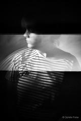 "50/365 ""Rayure transparente"" (ophelie.poirier) Tags: woman selfportrait girl strange studio scary autoportrait ghost stripe band translucent 365 transparent challenge fantme rayure translucide project365 365days 365project 365challenge"