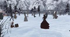 Avilion Nexus - Nightmare before Christmas party (Osiris LeShelle) Tags: life christmas winter party music cloud snow fun dance before secondlife second nightmare nexus nightmarebeforechristmas avilion balltoom