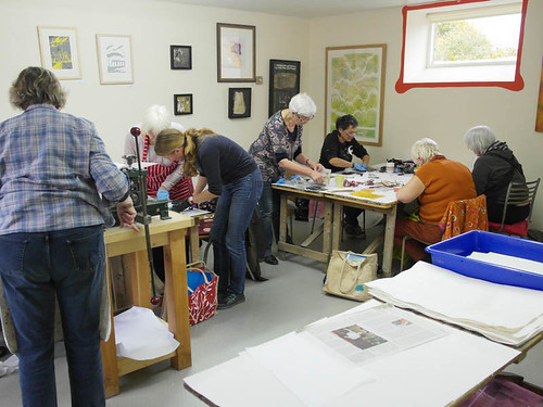 Intro to Collagraph Printmaking - 6 week course