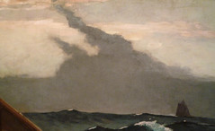 Homer, The Fog Warning (Halibut Fishing), 1885