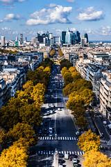 Autum over Paris