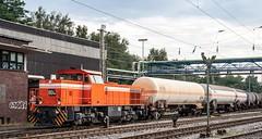 16.08.2006 Gladbeck. RAG Bahn+Hafen. RAG 804 mit Kesselzug
