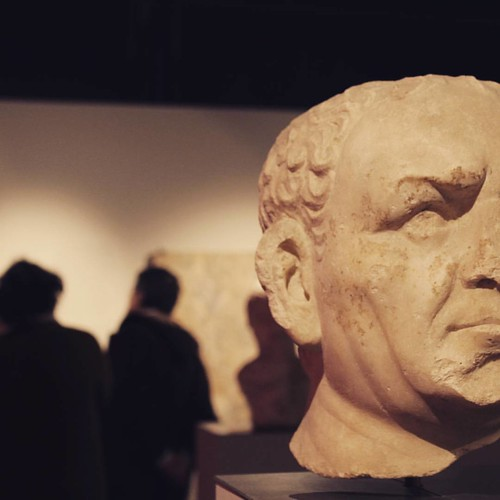 Hoje foi dia de visitas. #lusitaniaromana #exhibition #romanarchaeology #archaeology #project365 #day46 #picoftheday
