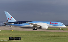 Thomson Airways 787-8 G-TUII (birrlad) Tags: uk england man airplane manchester airport ramp taxi aircraft aviation airplanes terminal apron international airline thomson boeing airways bridgetown departure takeoff runway airliner departing taxiway 787 b787 dreamliner 7878 b788 gtuii