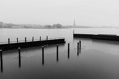 Winterlicht B&W (Manuel Eumann) Tags: winter art nature landscape fuji natur fujifilm landschaft januar schleswigholstein schleswig norddeutschland 2016 manueleumann x100s