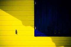 Shutter (donlunzo16) Tags: city blue shadow sunlight house color film yellow lens schweiz switzerland town nikon df raw nef pack filter nd shutters nikkor 58mm vignette afs lightroom 2x lenzerheide valbella f114 preset vsco