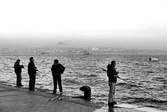 Fishing at the Bosphorus (awbaganz) Tags: turkey fishing istanbul panasonic bosphorus lx100