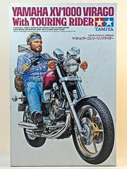 Motorcycle Kits I Grew Up With 6  Box Art (My Toy Museum) Tags: up bike motorcycle yamaha virago kit tamiya touring grew