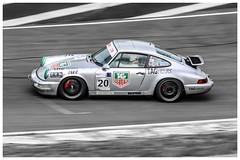 911 , racetrack of Charade , France. (sdupimages) Tags: auto cars race flat course desaturation 70200 partial vitesse fil porshe eos70d