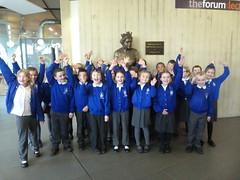 Pupils of Thorpdene School at the Forum (SouthendBC) Tags: kent duke southend theforumsouthendonsea