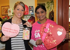 Will you be our Valentine? (Dublin Metro Dental) Tags: dublin game fun chocolate valentine cupid dentist guessing patients february14th dublinmetrodental drsadineni
