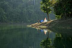 SAM_0172 (yaman ibrahim) Tags: morning camping water mirror fishing fishnet raft rays rol kedah pedulake nx1 samsungnx1