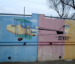 Jenny (Georgie_grrl) Tags: friends cat plane airplane photography mural publictransit jenny social transportation outing 501 fromthestreetcar shootingonthego torontophotowalks canonpowershotelph330hs mynewdarkpinkside ttcchallenge thequeenline topw501