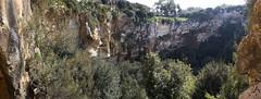 Il-Maqluba (albireo 2006) Tags: panorama cliff rocky malta cliffs geology sinkhole qrendi doline ilmaqluba