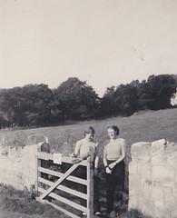 Isle of Wight 1950 (Bury Gardener) Tags: blackandwhite bw 1950s isleofwight oldies 1950