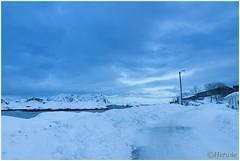 road (HP003444) (Hetwie) Tags: winter snow nature norway night landscape see vakantie sneeuw natuur zee avond landschap eiland svolvr noorwegen nordland noorderlicht svinya huisjes rorbruer svolvr svinya