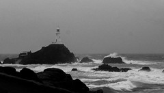 IMG_0163-2 (stuartharnott007) Tags: blackandwhite photography photo outdoor jersey corbierelighthouse stuartarnott