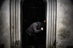 Consumed (Emiloo0) Tags: winter snow church contrast darkness captured deep sigma medieval explore hidden 1770 hopeless d5100