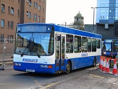 Kingsley Coaches 110 (NA52BVJ) - 08-02-16 (peter_b2008) Tags: buses transport 110 wright cadet daf gonortheast kingsleys birtley sb120 buspictures kingsleycoaches na52bvj