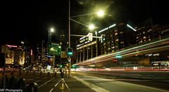 Missed the bus (Mick Fletoridis) Tags: city longexposure nightphotography lights nightlights sydney australia canonlens sonyimages sonya7s