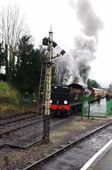IMGP8405 (Steve Guess) Tags: uk england train engine railway loco hampshire steam gb locomotive bluebell alton 060 ropley alresford hants fourmarks medstead qclass 30541