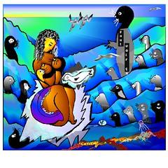 Brigitte et les phoques VI