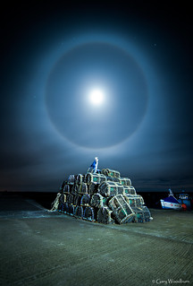 Lunar Ring - Beadnell Harbour, Northumberland