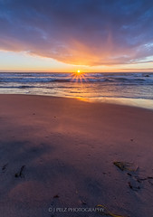 Sunset At Tofta Beach (J. Pelz) Tags: ocean sunset sky nature canon mood sweden moment gotland