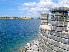 Redi-Rock_cobblestone-gravity-water-MDC-BayHarbor1 (redirockphotodatabase) Tags: michigan caps columns cobblestone gravity retainingwall mdc bayharbor chicagoarea gravitywall redirock bayharbormi waterapplication residentialapplication waterapplications commercialapplication mdccontracting chicagoretainingwalls