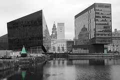 Canning Dock - Liverpool (Chris Dimond) Tags: green liverpool reflections filter 2015 portofliverpool canningdock