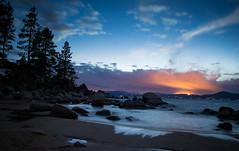 Sand Harbor (thereshegoesagain) Tags: nightphotography tahoe sandharbor