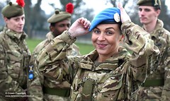 SCOTTISH SOLDIERS PREPARE FOR UN PEACEKEEPING MISSION IN CYPRUS (Defence Images) Tags: uk england woman male female army military cyprus tosca equipment un badge unitednations soldiers british op peacekeeping beret operation defense defence jnco headwear personnel lcpl lancecorporal regiments theblackwatch identifiable unficyp nesscliffe 3scots personalclothing personalequipment theroyalregimentofscotland 3rdbntheroyalregimentofscotland