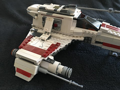 IMG_1239 (lee_a_t) Tags: starwars fighter lego xwing spaceship ewing rebels starfighter darkempire legoxwing legostarfighter legoewing