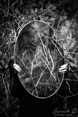 IMG_0767 edit B&W (Sarahr_7) Tags: road camera trees people white black fern reflection love girl forest photoshop canon hair photography mirror photo model photographer photoshoot emotion bokeh goals pnw trickphotography edit lightroom conceptphotography
