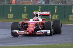 Kimi Raikkonen (7) Scuderia Ferrari (Sam Randles) Tags: melbourne f1 victoria iceman formula1 motorracing albertpark motorsport pirelli worldchampion kimiraikkonen scuderiaferrari australiangrandprix ausgp singleseaterracing