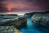 Whale Beach Sunrise 10.04.16 (davywg) Tags: beach sunrise rocks filter nd whale hitech cpl haida circularpolarizer gnd hardedge neutraldensity graduatedneutraldensity 100416 devilscouldron lucroit
