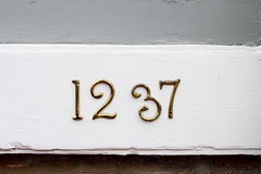 Imperfect (Benny2006) Tags: street door sign number tilt aling