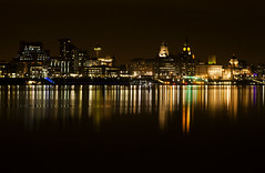 Liverpool Cityscape (David Chennell - DavidC.Photography) Tags: liverpool pierhead merseyside 3graces rivermersey liverpoolwaterfront liverpoolcityscape