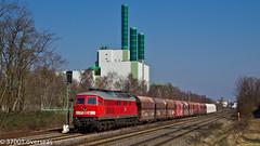 Ludmilla 232 254-3 on GM 60387 to Duisburg Mannesmann (37001 overseas) Tags: db deutschebahn duisburg hkm kalk ludmilla mannesmann 60387 flandersbach class232 rohdenhaus angertalbahn wannheim 232254 2322543 gm60387