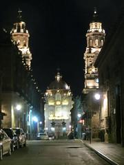 Catedral de Morelia Nocturna IV (Garenez) Tags: morelia colonial catedral ciudad michoacn