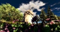 The Mill@The Keys (| Raven |) Tags: life art nature windmill landscape sl ravi works second windmhle ravihing
