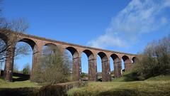 Beckfoot Railway Viaduct_Low Gill, Cumbria_250316_01 (DS 90008) Tags: uk building parish countryside lakedistrict engineering railway tourist farmland historic hills cumbria railtransport lowgill beckfootviaduct