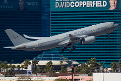Royal Air Force A330 (SeriouslyFunny Photography) Tags: uk las vegas england plane airplane photography airport force britain aviation military air nevada great royal grand casino strip airline airbus mgm a330 tanker fuel spotting mccarran planespotting avgeek