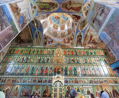 Иконостас. Александро-Свирский монастырь.