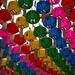 Lanternas coloridas