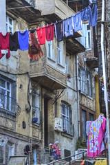 Istanbul (Alcu3- www.thisthatandthepassport.com) Tags: travel viaje girls vacation tourism turkey europa europe refugees istanbul laundry niñas turismo ropa turquia kurdish kurds refugiados secado estanbul